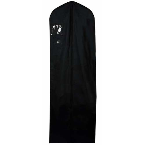 Black 100% Natural Cotton Wedding Dress Cover