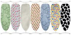 100% Cotton Ironing Board Cover with Thick Foam Backing. Ironing Board not included