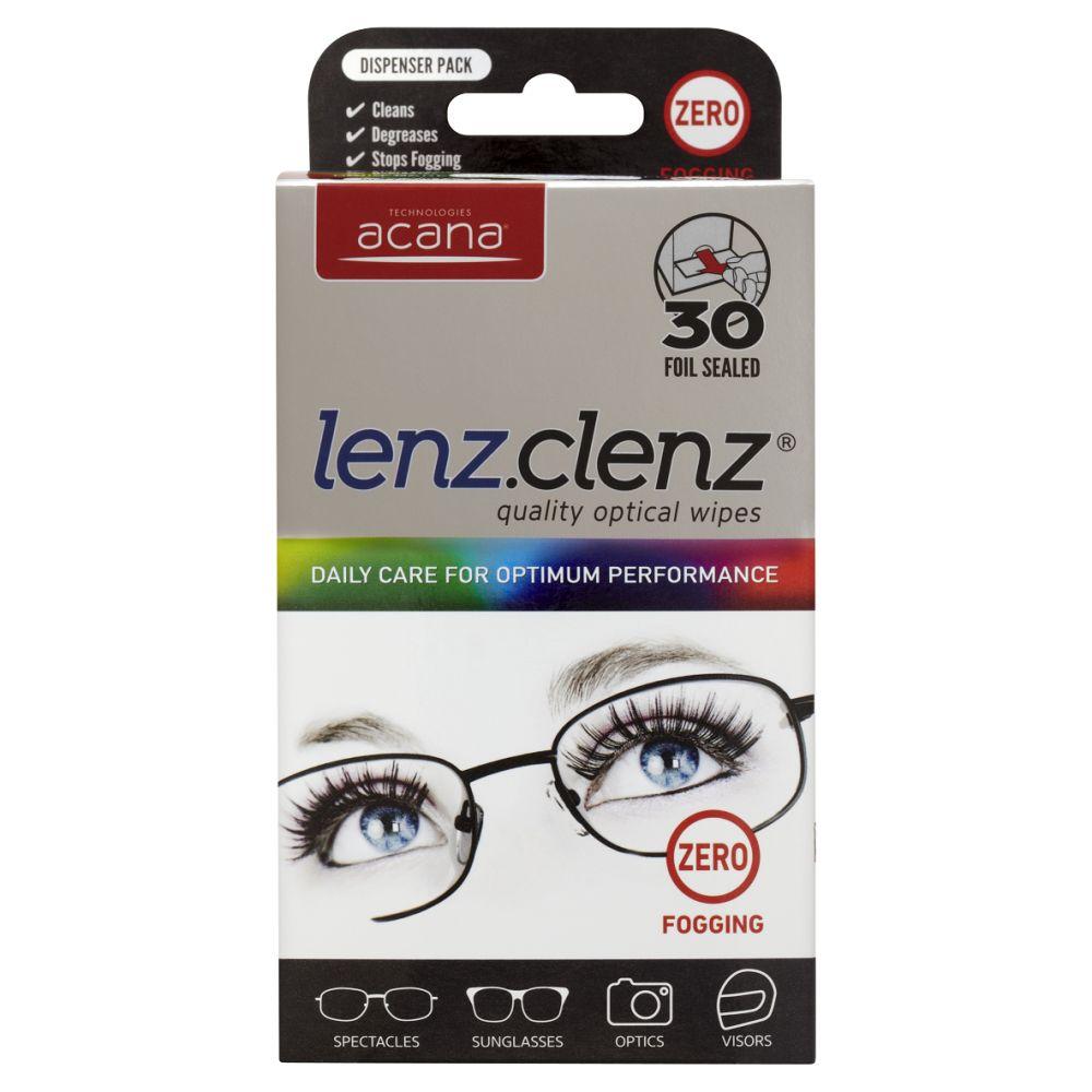 Caraselle Lenz Clenz Optical Wipes 30