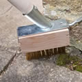 The Caraselle 2 in 1 Patio, Paving &amp; Decking Cleaning Brush