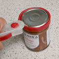 Caraselle  Jar & Bottle Opener in Red.  Made in the UK