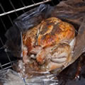 Roast In A Bag Self Basting Oven Bag. 8 bags per pack. 25 x 38 cm with tie closures