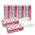 The Caraselle New & Unique pack of 2 x 7.5m Designer Roller Brushes & 4 x Refills with very sticky paper Strawberry  Design
