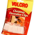 VELCRO® Christmas Decoration Clips (60331)From Caraselle
