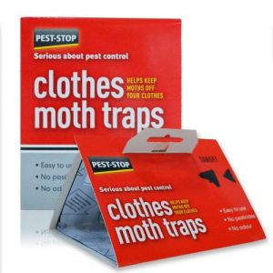 Caraselle Clothes Moth Pheromone Traps - 1 Pack of 2