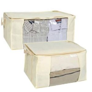 1 Large Vacuum Storage Jumper/blanket Volume Reducing Chest