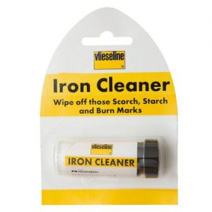 Vilene Iron cleaner wipe off scorch starch & burn marks from Caraselle