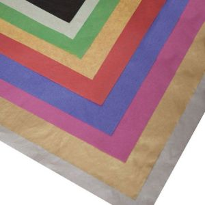 25x Sheets of Acid Free Tissue Paper Unbuffered 50x70cm Asstd Colours