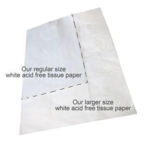 Pack of 25 Jumbo Sheets of White Acid Free Tissue Paper 750 x 1000mm