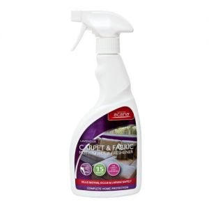 Acana Carpet & Fabric Moth Killer & Freshener Spray 500ml. Covers 25 square metres.From Caraselle