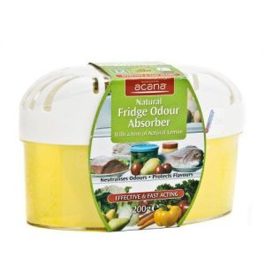 Ozmo Natural Fridge Odour Absorber Advanced Formula 2 in 1 -200g with a hint of Natural Lemon