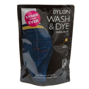Dylon Wash & Dye Velvet Jeans Blue 400g from Caraselle