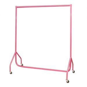5ft Pink Heavy Duty Garment Rail 152x155x50cm made in UK