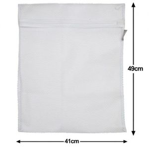 1 Caraselle  Large Zipped Net Laundry Washing Bag 41 x 49cms