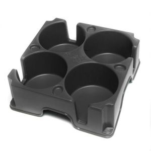 Caraselle Grey Muggi Mark 2 Cup Holder for 4 Cups - Made in England.