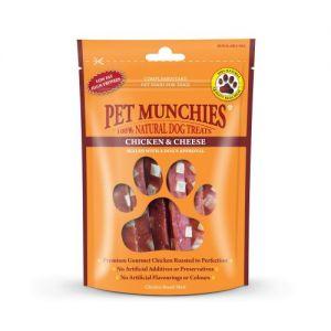 Pet Munchies Dog Treats- Chicken & Cheese 100g - 100% Natural 1914
