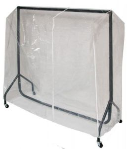 Transparent Protective Cover for our 5ft Clothes Rail - by Caraselle