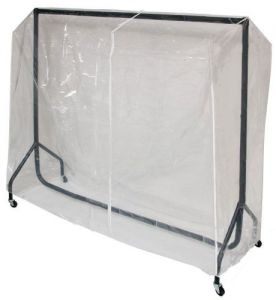 Transparent Protective Cover for our 6ft Clothes Rail - By Caraselle