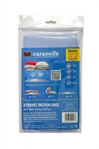 Caraselle Travel Vacuum  Bag Pack 45x65cm (2 bags per pack)