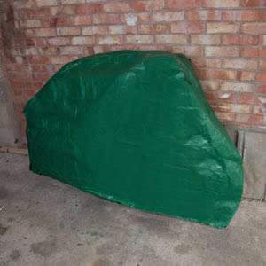 Caraselle Bicycle Cover in Heavy Duty Green Polyethylene
