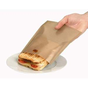 2x Gold Toastabags 100 uses - Toast sandwiches in your toaster from Caraselle