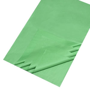 Caraselle Green Unbuffered Tissue Paper 25 sheets 50x70cm