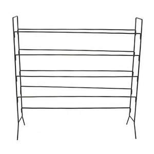 Heavy Duty Steel 4 Tier Shoe Rack 122x122x33cm from Caraselle