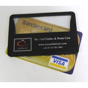 Credit Card Magnifier with L.E.D. light 85 x 55mm from Caraselle