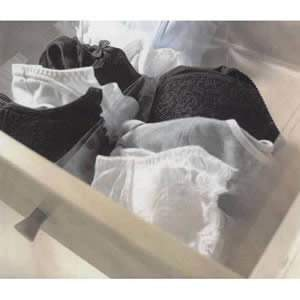 Drawer Organizers,2 Packs of 2 30x15x9cms from Caraselle