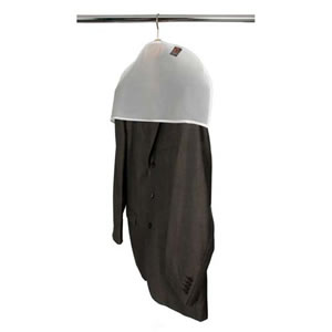 20 x packs of 5 Shoulder Covers to protect Hanging Clothes ( 100 covers in total )