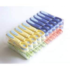 60 Extra Strong Non-Slip Clothes Lines Pegs 8cm long from Caraselle