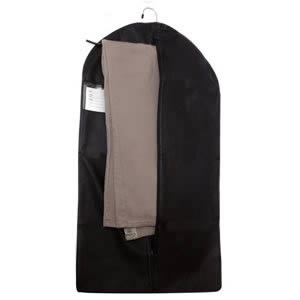 Caraselle Black Breathable Zipped Trouser Cover 83 x 45 x 3 cms
