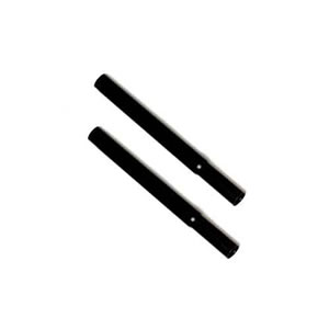 Caraselle pair of Black 23cm ( 9 ) Black Extension Pieces to increase the height of our Garment Rails