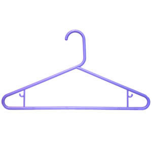 Caraselle Robust Lilac Polypropylene Suit Hanger 42cm wide with Skirt Hooks