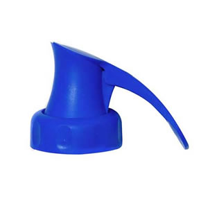 Blue Topster Milk Top Pourer from Caraselle- For PLASTIC Milk Bottles only