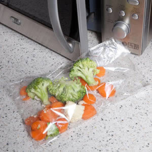 Caraselle Quickasteam Microwave Cooking Bags 1-2 serving-25 bags per pack