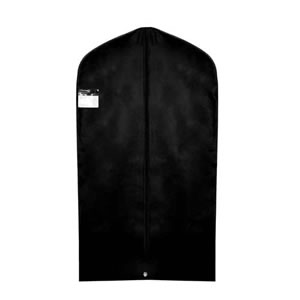 Black Polypropylene Breathable Suit Cover - 112cms x 63cms