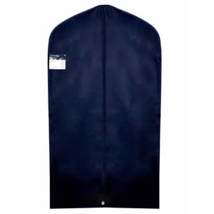 Caraselle Navy Polypropylene Breathable Suit Cover