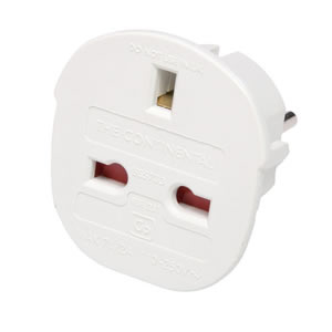Caraselle Continental Adaptor Plug