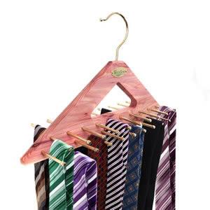 Caraselle Deluxe Woodlore Cedar Wood Compact Tie Hanger to hold 40 Ties