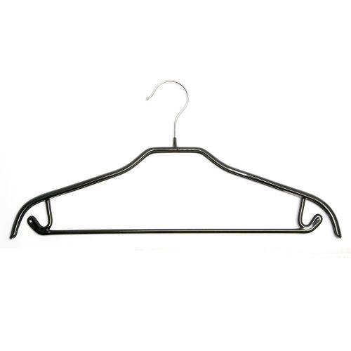 Black non-slip suit hanger