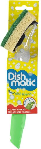 Dishmatic Washing Up Brush with Sponge from Caraselle
