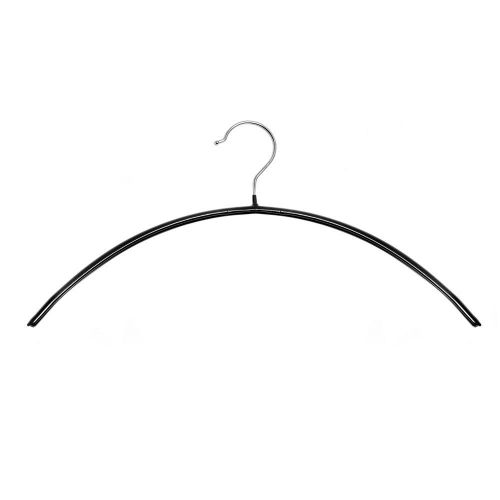 Non-Slip Hanger for Knitwear, Jackets, Shirts & Blouses with Chrome Hook