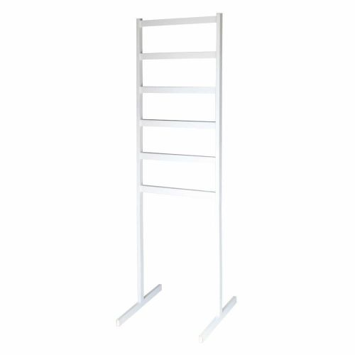 White Clothes Rail in Steel