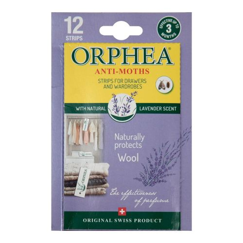 Orphea Moth Repellent Strips with Lavender