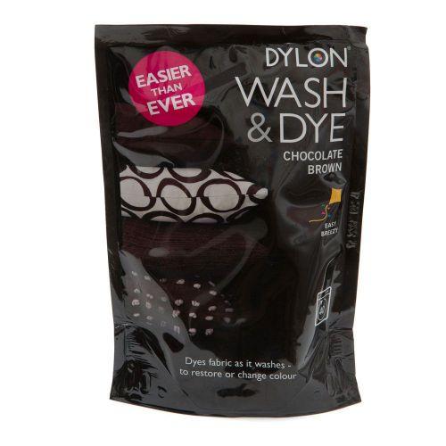 Dylon wash dye chocolate brown