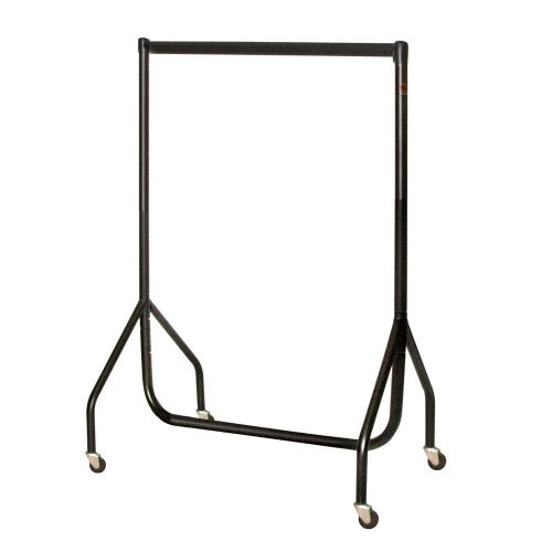 4ft Black Heavy Duty Junior Garment Rail 91x122x38.5cms