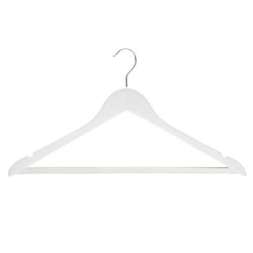 White Wooden Hangers