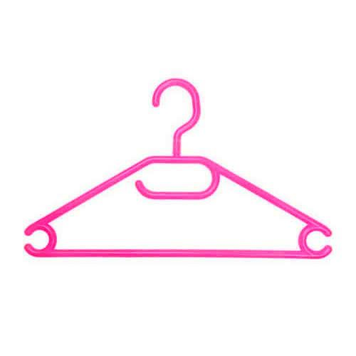 Caraselle Childs Vibrant Pink Swivel Hook Hanger - Pack of 10