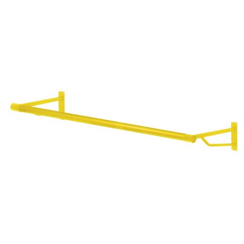 4ft Sunflower Yellow Wall Mounted Rail from Caraselle - Heavy Duty